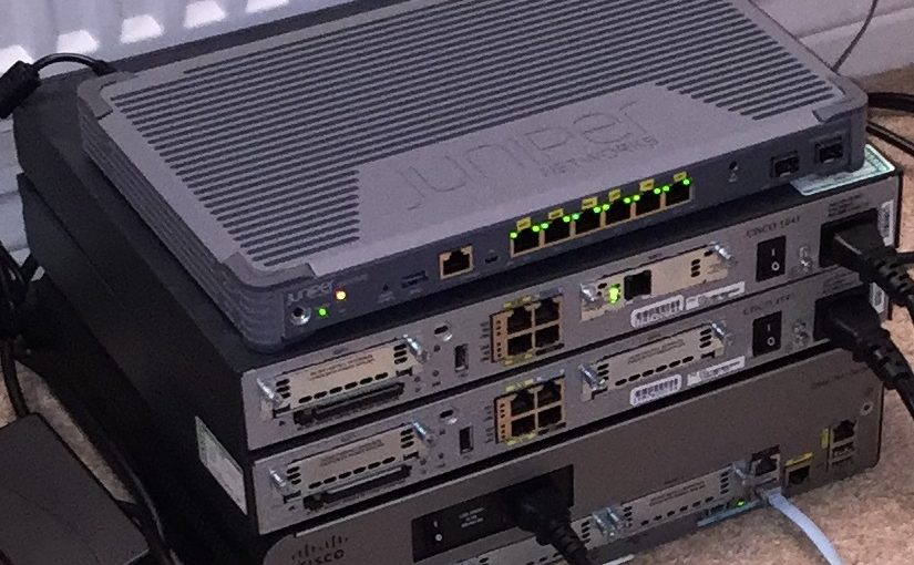 Juniper SRX300 Dual Wan Failover Config