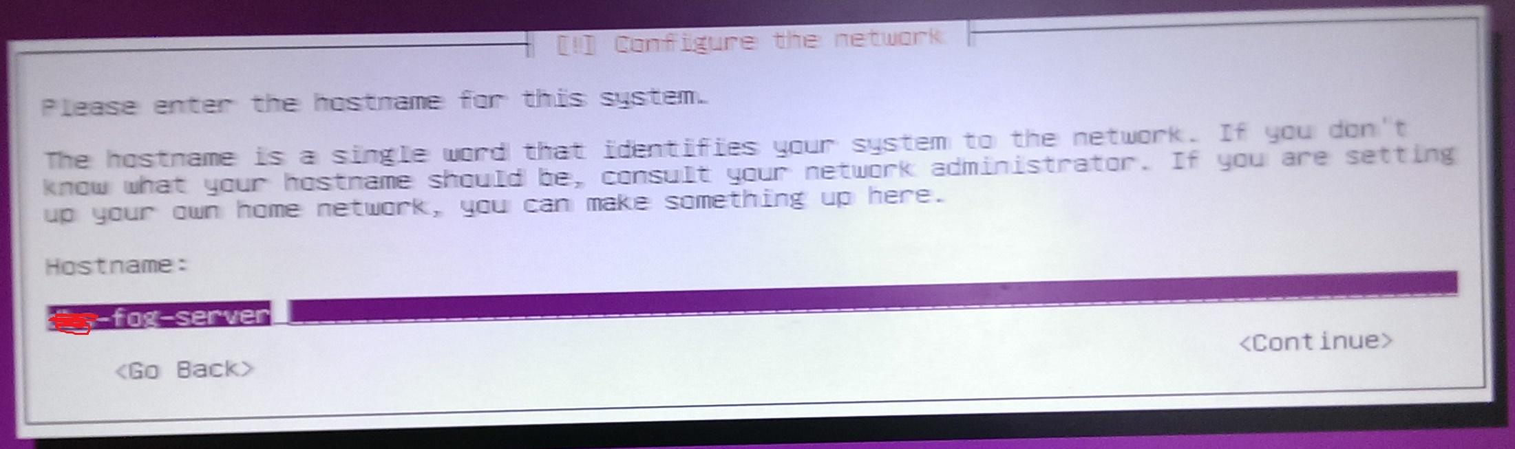 Ubuntu Server IP setup